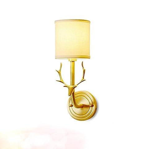 Lampe de mur Moderne Simplicité Luxueux pour Salon Chambre à coucher, Salle d'étude, Couloir, Cuisine