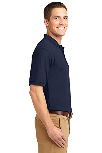 NEW Port Behörde Silk-Touch Sport T-Shirt Harvest Gold, M Blau - Navy