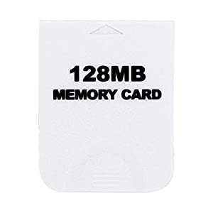 Childhood Weiß 128M Speicherkarte für Wii NGC Gamecube Konsole