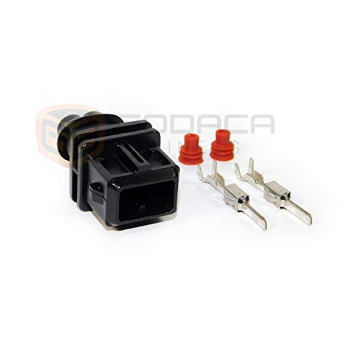 Godaca Business 1x Repair Connector Plug EV1 For Bosch Fuel Injector w/out  wires