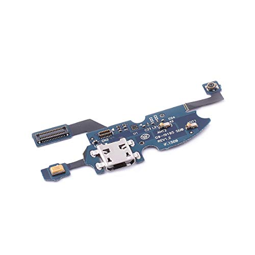 FONFON Dock Connector für Samsung Galaxy S4 Mini i9190 USB Charger Buchse Charging Ladebuchse Flex Kabel Mikrofon