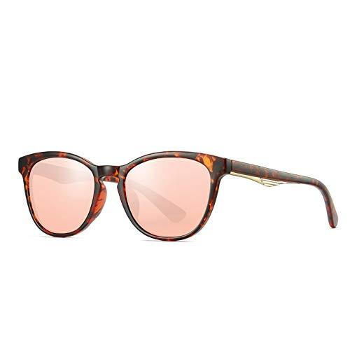 LAMAMAG Sonnenbrille Lady Cat Eye Polarized Sonnenbrille Frauen 1: 1 TAC HD-Objektiv Einzigartiger Rahmen Cat Eye Sonnenbrille Gafas UV400,4