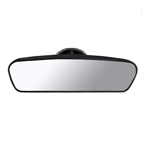 Cadre universel en aluminium noir Volant 1 PC de 350mm Volant de voiture en cuir PVC /à 6 boulons avec klaxon.