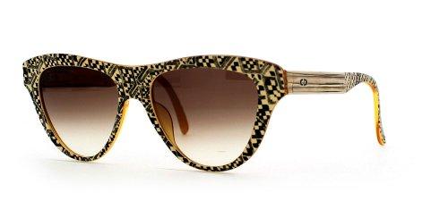 Christian Dior Damen Sonnenbrille Schwarz Black Brown (Black Eyeglasses Dior Christian)