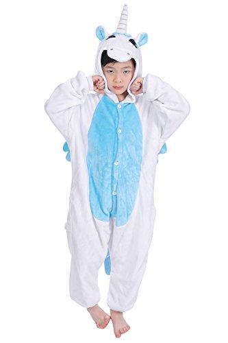Dolamen-Enfant-Unisexe-Kigurumi-Combinaison-Pyjama-Onesies-Fille-Garon-Fleece-Anime-Cosplay-Halloween-Nol-Fte-Costume-Soire-de-Dguisement-Vtement-de-nuit