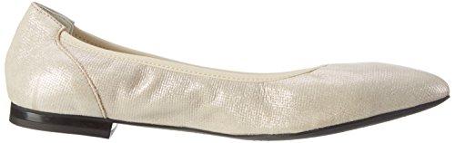 Geox - D Rhosyn B, Ballerina da donna Oro (CHAMPAGNECB500)