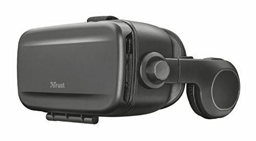 Trust urban exora visore vr universali con cuffie integrate, per smartphone, nero