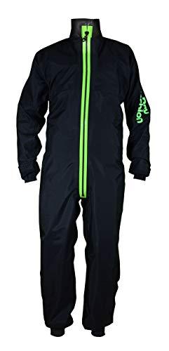 Dry Fashion Damen Herren Trockenanzug SUP-Advance Segelanzug wasserdicht, Größe:M, Farbe:schwarz/grün