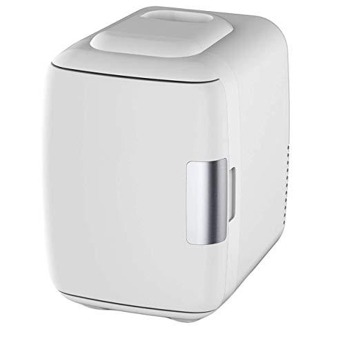 Mini-Kühlschrank, elektrischer Kühler und Wärmer (4 Liter / 6 Dosen) -AC/DC Tragbares thermoelektrisches System w