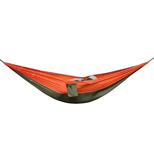 mimagogy 2 Person im Freien Hängematte Schaukel Schlafen hängendes Bett Parachute Tuch Hammock -