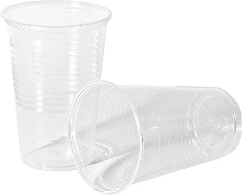 Heku 30473 Lot de 1 000 gobelets Polypropylène 0,2 L Transparent