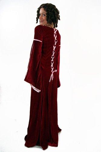 Kostüm Kleid Mittelalter Burgfräulein Gothic Romanik 44 - 2