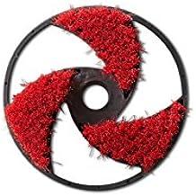 Nilfisk Cabezal de Cepillo para Coches hidrolimpiadoras de Alta presión Recambio Limpiador, Rojo, 10x17x10