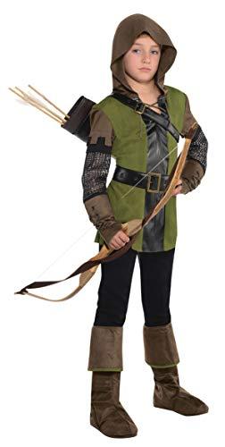 Zubehör Robin Kostüm - amscan 845713-55 Jungenkostüm König der Diebe, Mehrfarbig, 12-14 Jahre