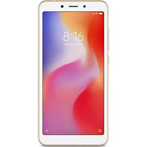"Xiaomi Redmi 6A - Smartphone 5.45"" (Quad-Core 2.0 GHz, RAM 2 GB, memory 32 GB, GBmera of 13 MP, Android 8.1) Color Gold"