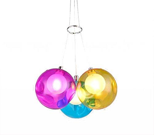 Iluminación de techo Farbige Bubble Ball lámpara...