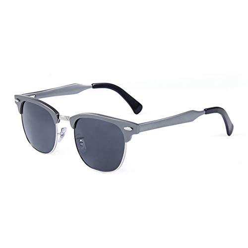 Polarisierte Sonnenbrille mit UV-Schutz Herren Sport Sonnenbrillen Aluminium und Magnesium Rahmen polarisierte Sonnenbrillen UV-Schutz Sonnenbrillen zum Fahren Reisen Baseball Laufen Radfahren Angeln