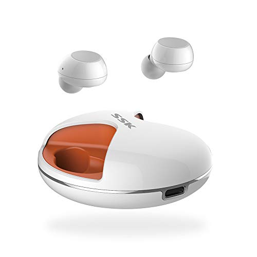 RONSHIN Simple Kopfhörer SSK BT03 TWS Bluetooth 5.0 Kopfhörer Sport Wireless Kopfhörer Headset Wasserdicht Kopfhörer mit Mikrofon für Musik Filme Spiele