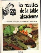 Les recettes de la table alsacienne.