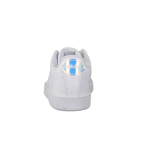 adidas Cloudfoam Advantage, Sneakers Basses Femme ftwr white/ftwr white/core black