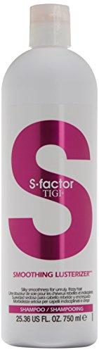 Tigi S-FACTOR Smoothing Lusterizer Shampoo, 1er Pack (1 x 750 ml)
