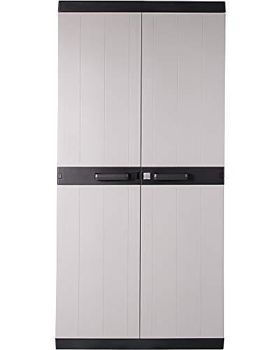 Ondis24 Kunststoffschrank Haushaltschrank Multifunktionsschrank Classy XL, 88 x 54 x 190 (H) cm,...