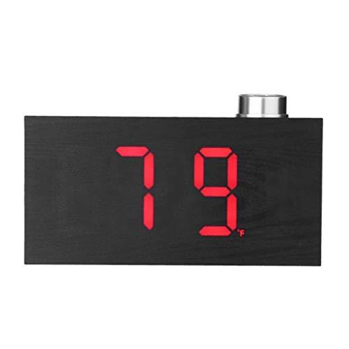 Reloj despertador digital multifunción Reloj electrónico 12H 24H Pantalla de alarma Decoración Espejo