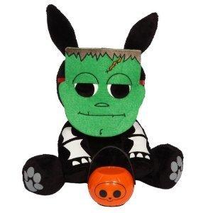 Skelanimals Halloween Plush w/ Lantern - Jack the Rabbit as a Monster by Skelanimals