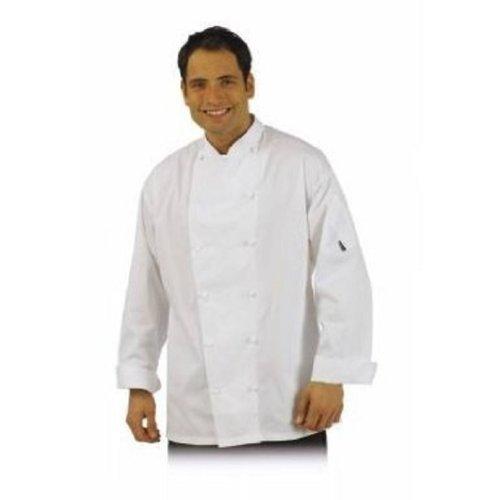 Le Chef De92 Executive Jacket White M by Le Chef Executive Chefs Jacket