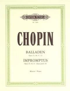 Balladen + Impromptus. Klavier