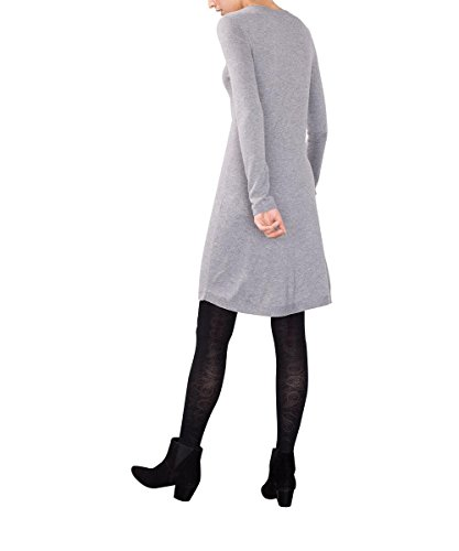 edc by Esprit 086cc1e023, Robe Femme Gris (MEDIUM GREY 035)
