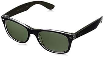 Ray-Ban Herren Sonnenbrille 2132, Schwarz (Negro), 52