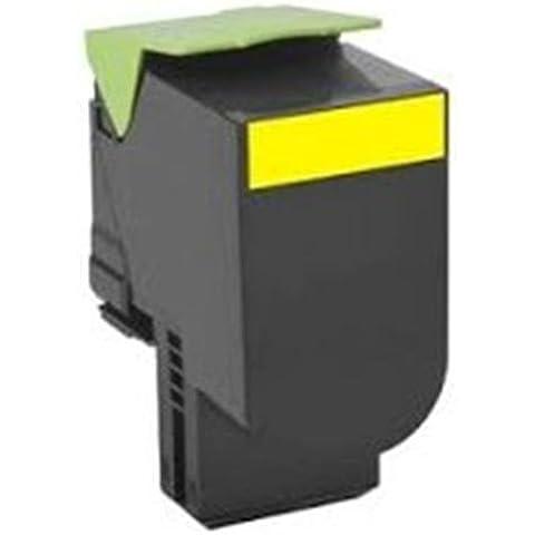 Toner compatibile alta resa return program 802HY giallo - Reprint - Lexmark Multifunzione CX410de - Laser-Copy, Lexmark Multifunzione CX410dte - Laser-Copy, Lexmark Multifunzione CX410e - Laser-Copy, Lexmark Multifunzione CX510de - Laser-Copy, Lexmark Multifunzione CX510dhe - Laser-Copy, Lexmark Multifunzione CX510dthe - Laser-Copy Codici compatibili: 80C2HY0