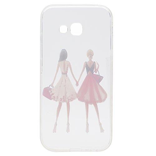 Qiaogle Telefon Case - Weiche TPU Case Silikon Schutzhülle Cover für Apple iPhone 7 (4.7 Zoll) - QI14 QI19