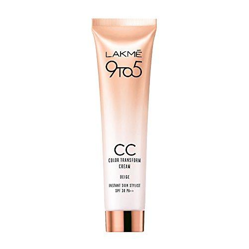 Lakme Complexion Care Color Transform, Face Cream, Beige, 30 g