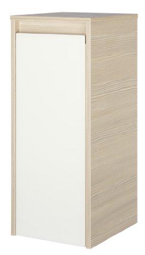 Fackelmann 83443 Unterschrank Viora, 1 Tür, Türanschlag rechts, 2 Glaseinlegeböden, BxHxT: 30.5 x 73 x 34 cm