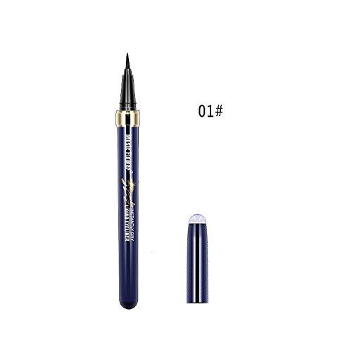 Syeytx Black Eyeliner Wasserdichter Flüssiger Eyeliner Bleistift Stift Hochzeit, Partys Makeup Beauty Comestic