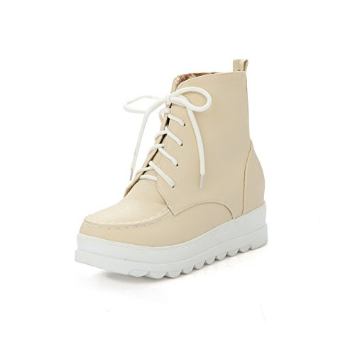 adeesu-girls-lace-up-round-toe-casual-beige-imitated-leather-boots-2-uk