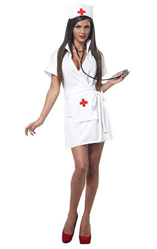 California Krankenschwester Kostüm L
