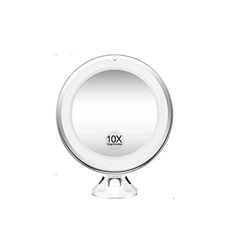 GMM 10-fache Vergrößerung, LED-Fülle-Licht-Kosmetikspiegel, mit Lichtspiegel mit...