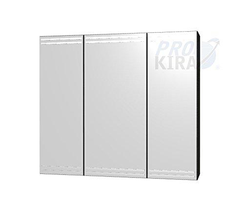 PELIPAL Lunic Spiegelschrank/LU-SPS 13 / Comfort N/B: 80 cm