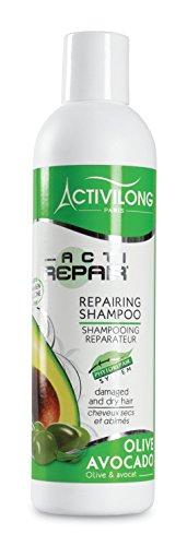 Activilong Actirepair Shampooing Réparateur aux Huiles d'Olive et Avocat Bio 250 ml
