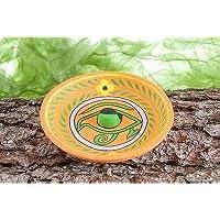 Berg Räucherstäbchenhalter Horus Auge aus Ton, ca. 12,5 cm preisvergleich bei billige-tabletten.eu
