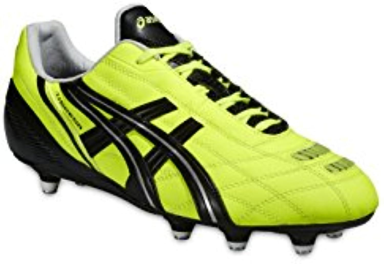 ASICS de Fútbol TIGREOR YELLOW BLACK SILVER ST PJ409 Multicolor Black/yellow Talla:8 1/2