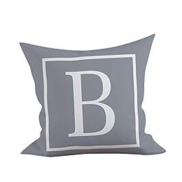 MORETIME Maison & Cuisine,oreillers et Coussins Housse de Coussin Maison Taie d'oreiller canapé 45×45 cm Taie d'oreiller…
