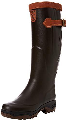 Aigle Rubber Boots Unisex Parcours 2 Signature Jagdstiefel, braun, 44 EU