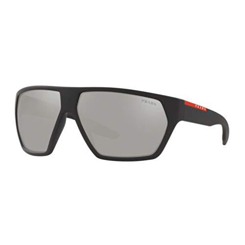 Ray-Ban Herren 0PS 08US Sonnenbrille, Gold (Black Rubber), 66.0