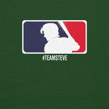 Planet Nerd Team Steve - Herren T-Shirt Flaschengrün