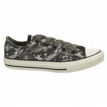 Converse CT All Star Ox Charcoal Youths Trainers - 642855F Charbon