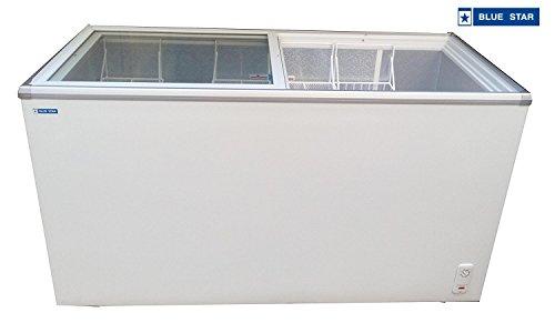 Blue Star Glass top deep freezer 500 liter
